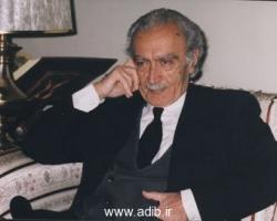 ادیب برومند در هفتاد سالگی